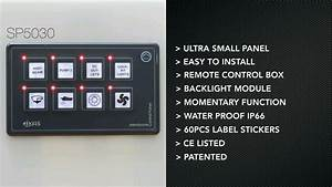Sp5030 Marine Membrane Touch Switch Panel Introduction
