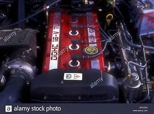 1989 Ford Cosworth Dohc 16v Turbo Engine Stock Photo