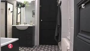 Salle De Bain Noire Et Blanche : idee deco salle de bain noir et blanc ides ~ Melissatoandfro.com Idées de Décoration