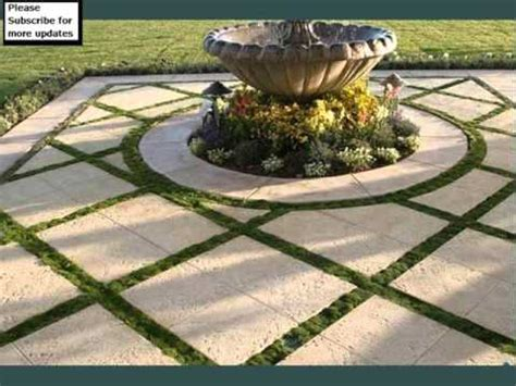 modern tile fireplace grass and pavers design collection landscape pavers