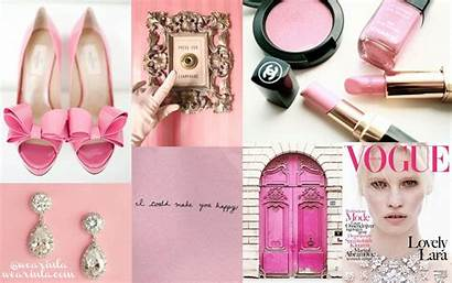 Girly Desktop Backgrounds Wallpapers Pink Background Collage