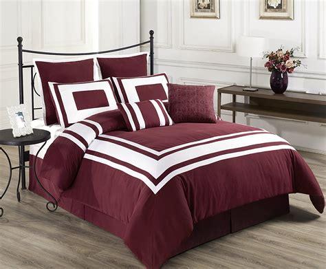burgundy bedspreads burgundy bedding that is classy and elegant webnuggetz com