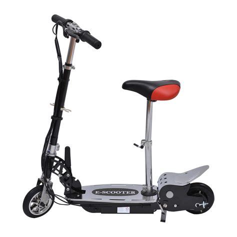 trottinette electrique avec siege homcom trottinette patinette électrique pliable plus de 8