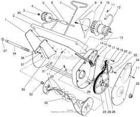 Toro 38005  1200 Power Curve Snowthrower  1997  Sn 7900001