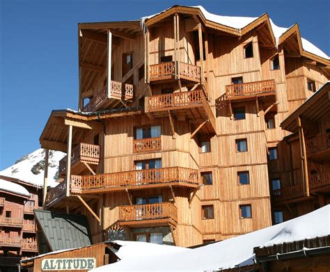 chalet altitude 20 val thorens location vacances ski val thorens ski planet