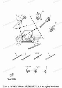 Yamaha Side By Side 2015 Oem Parts Diagram For Electrical