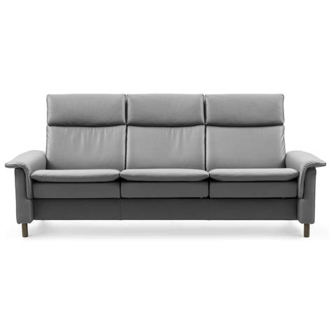 High Back Reclining Sofa by Stressless 1444030 High Back Reclining Sofa