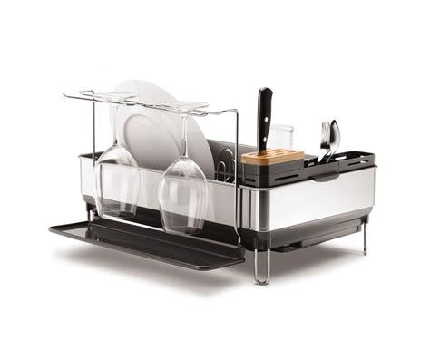 acrylic kitchen sinks new steel dish drainer sink rack knife block glass 1154