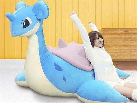 plush bed cushion bean bag pokemon lapras pokemon diy