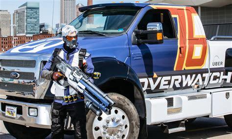 monster truck show boston un monster truck d 39 overwatch créé un accident à la pax