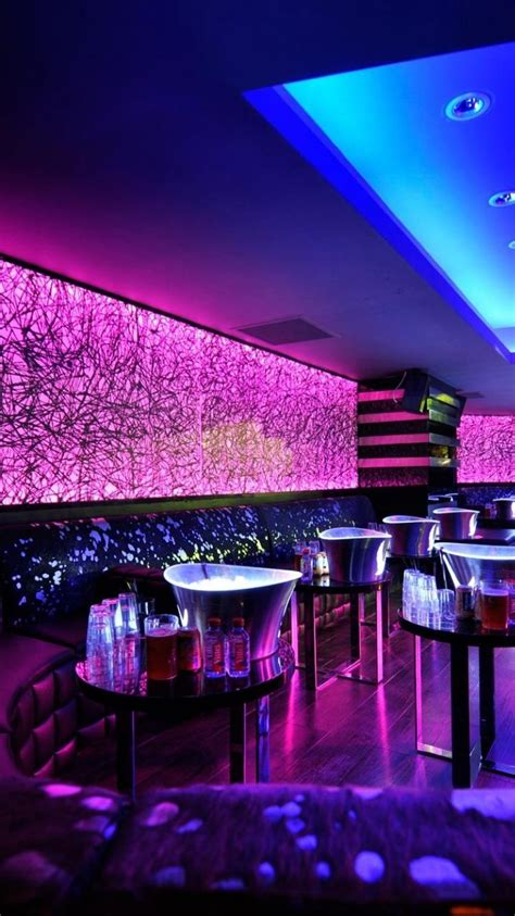 architecture design bar lighting night club neon lounge