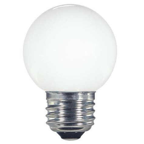 white g16 5 led globe light bulb 1 4 watts