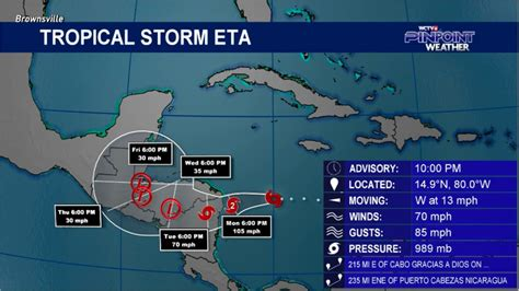 Live hurricane tracker, latest maps & forecasts for atlantic & pacific tropical cyclones, including tropical storm claudette, tropical cyclone six. Tropical Storm Eta strengthens in the Caribbean
