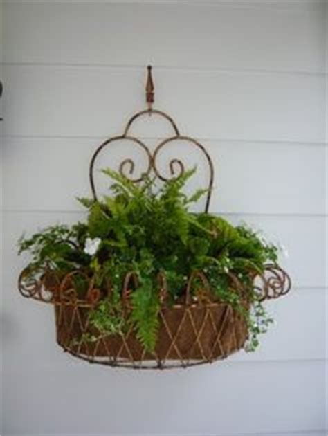 Outdoor Wall Planters Wrought Iron by 1000 Images About Wrought Iron Wall Planters For Outside