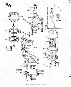 Kawasaki Motorcycle 1979 Oem Parts Diagram For Meters