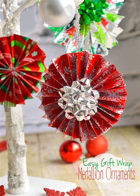 ornament craft for 10 year old easy gift wrap medallion ornaments on timeout