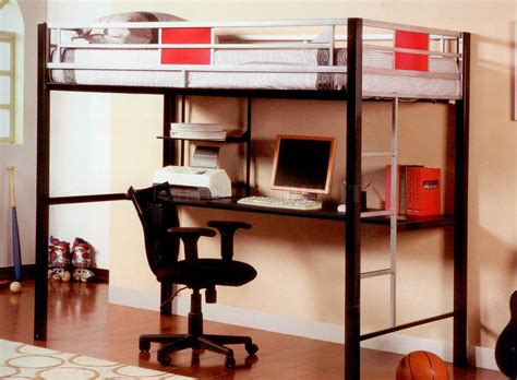 bedroom endearing triple bunk bed  table