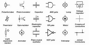 Diagrams And Symbols Of Electronicponents