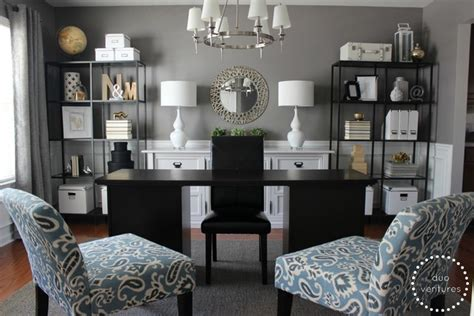 Turning A Dining Room Into A Home Office Contemporary