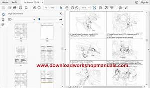 Kia Picanto 2011 To 2017 Workshop Repair Manual