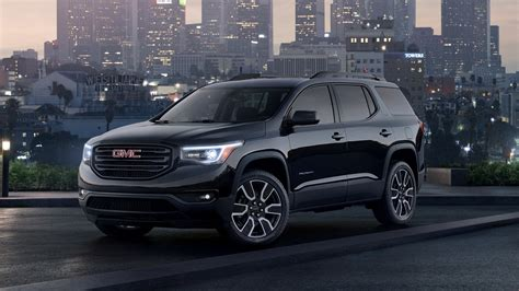 2019 Gmc Acadia Black Edition  Top Speed