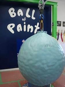 1  World U2019s Largest Ball Of Paint