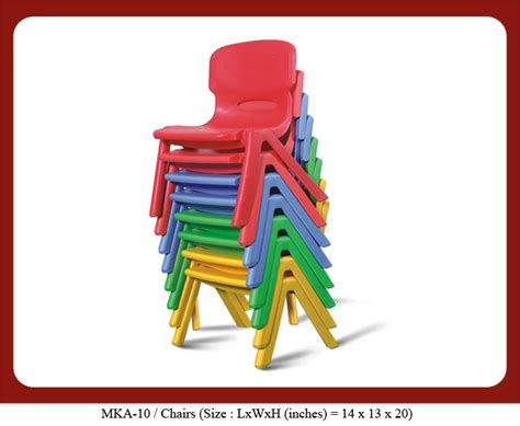 preschool furniture supplier prices india for 812 | standard chairs