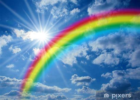 fototapete regenbogen pixers wir leben um zu veraendern