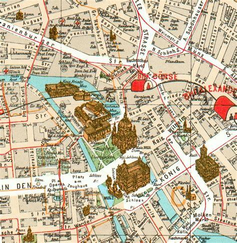 Carte Avec Monuments Historiques by Carte D 233 Taill 233 E De Berlin Avec Tous Les Lieux Du Guide