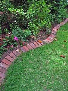 10 solid garden edging ideas with bricks garden lovers club for Brick border garden edging ideas