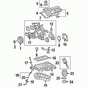 2007 Toyota Camry Parts Diagram