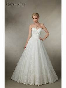 ronald joyce 18018 joy ball gown style wedding dress white With ball gown style wedding dresses