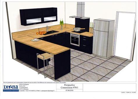 cuisine noir plan de travail bois votre avis sur plan de travail avec une cuisine noir
