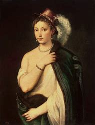 Titian Portrait of a Young Woman