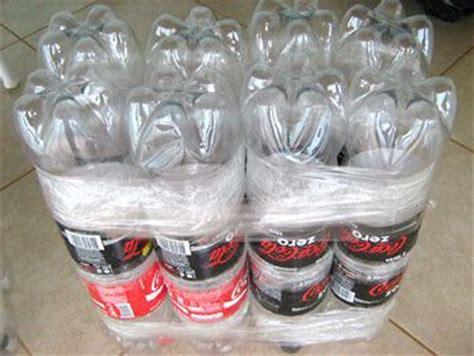 nice diy ottoman  plastic bottles