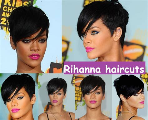 The Best Rihanna Haircuts Images Collection Related To