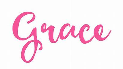Grace Gracie Names Word Meaning Letter God