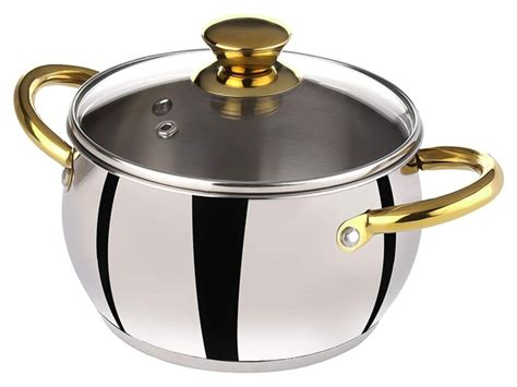 steel stainless cookware brands india brand indian cooking casserole bergner meyer
