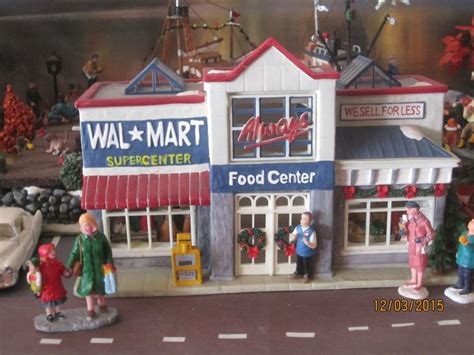 train garden village house walmart supercenter market