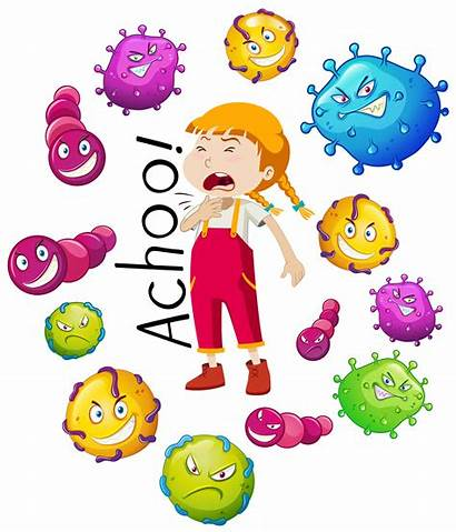 Virus Background Vector Many Vectors Flu Freepik