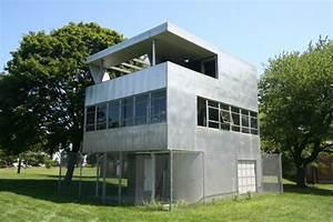 modern love all metal house finds a new home 6 o materia With all metal homes