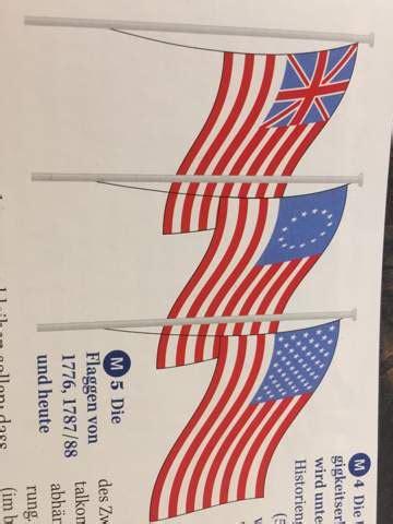 warum wurden die flaggen der usa veraendert und  stellen