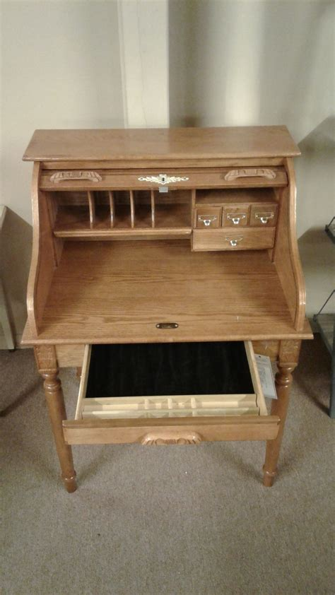 Ethan Allen Small Roll Top Desk by Small Oak Roll Top Desk Delmarva Furniture