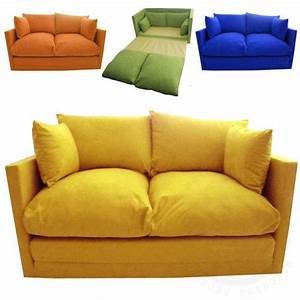 Details about kids children39s sofa fold out bed boys girls for Boys sofa bed