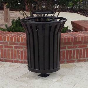 Trash Receptacle | Site Furnishings | Decorative Trash Can