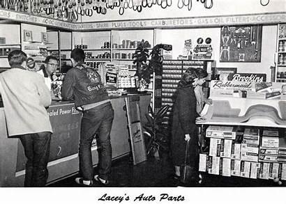 Parts 1960 Repair Garage Interior Counter Gas