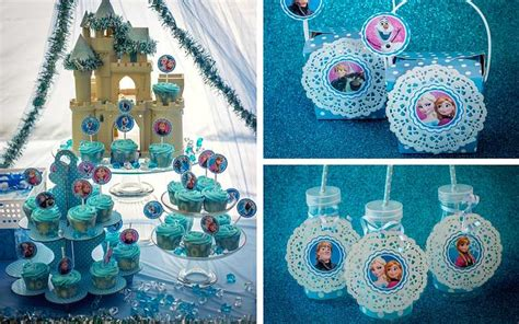frozen themed birthday party easy breezy parties