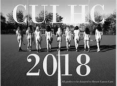 CULHC release 2018 charity calendar Gair Rhydd