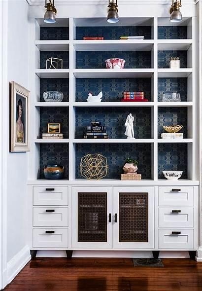 Bookcase Bookshelf Accent Michele Deringhall Interior Bookshelves
