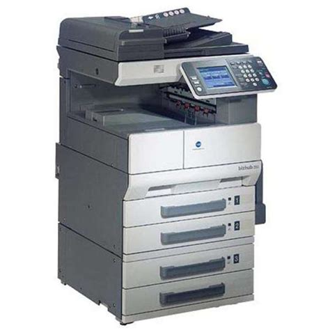 Maybe you would like to learn more about one of these? Konica Minolta Bizhub 162 Drivers / Konica Molita 368 ...